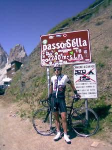 Pericoloso esemplare di ciclista pericoloso.
