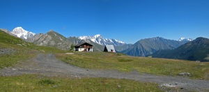 13 agosto. Cielo pericoloso sulle Alpi.