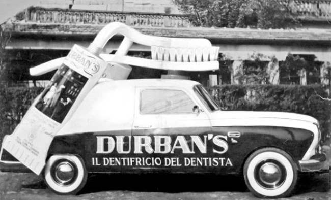 Advertisement and Imagination on Wheels in the 1950s and 1960s (6)